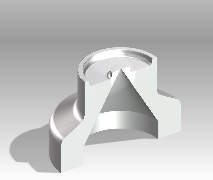 ステンレス製ディスペンサーノズル(先端穴Φ0.1)